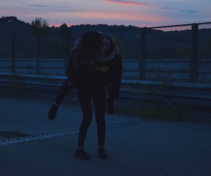 bae, grunge, and sunset image