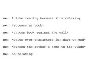 books, fml, and reading image