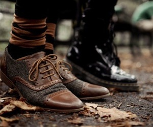 fashion, shoes, and autumn image