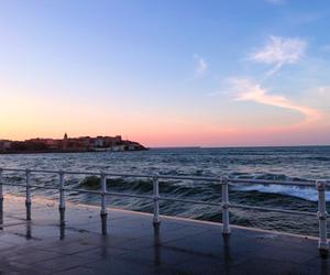 sky, sea, and tumblr image
