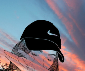 tumblr, nike, and wallpaper image