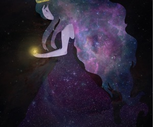 adventure time, galaxy, and princess image