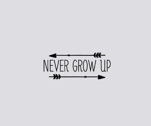 header, twitter, and never grow up image