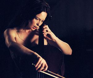 i am dina and cello image