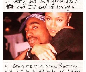 tupac, 2pac, and love image
