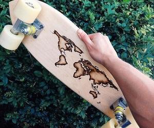 skate, world, and creative image