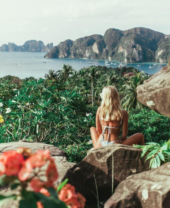 girl, explore, and summer image