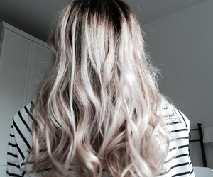 beautiful hair, color, and highlights image