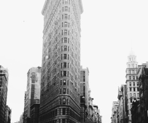 b&w, new york city, and back and white image