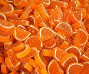 candies, candy, and orange image