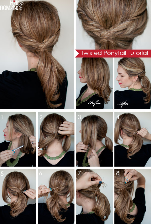 Twisted Ponytail Tutorial Shared By Sarah On We Heart It