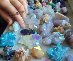 crystal, stone, and aesthetic image