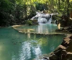 belleza, naturaleza, and cascadas image