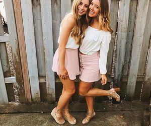 besties, friendship, and sisters image