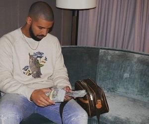 Drake and money image