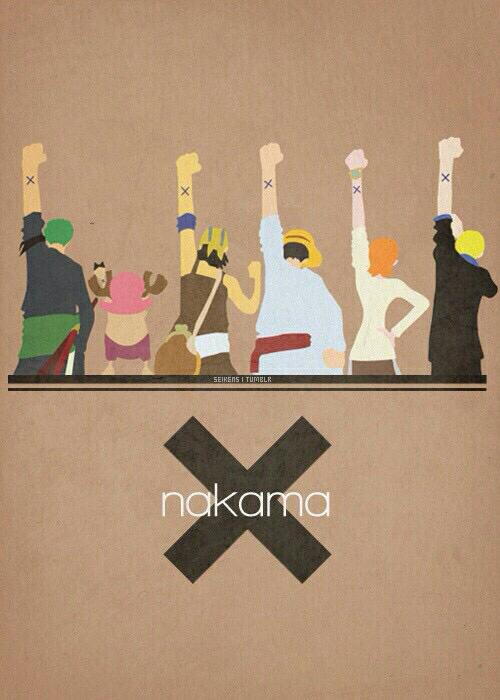 one piece, nakama, and anime image