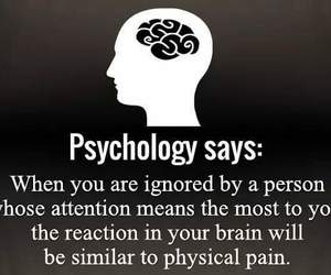 attention, ignore, and pain image