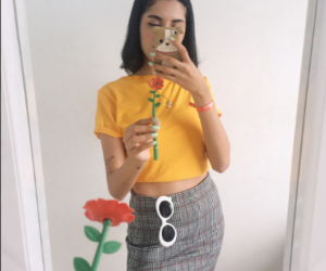 90's, flower, and icon image
