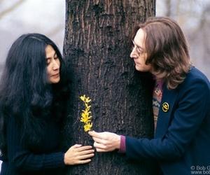 john lennon and Yoko Ono image