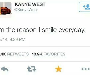 kanye west, smile, and quotes image