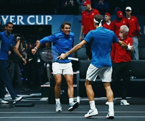 federer, nadal, and rivalry image