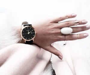 fashion, nails, and watches image