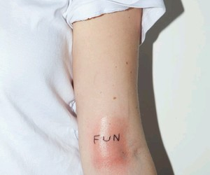 tattoo, fun, and arm image