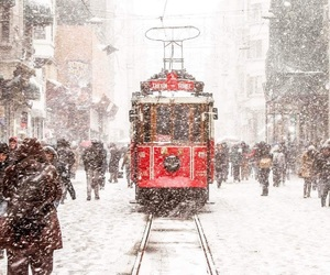 people, istambul, and red image