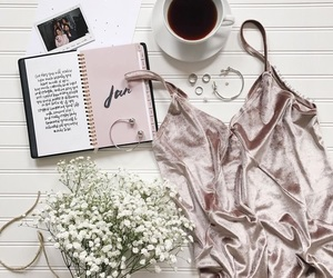 accessories, clothes, and coffee image