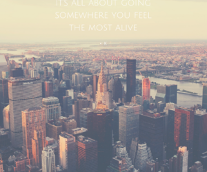 city, quote, and quotes image