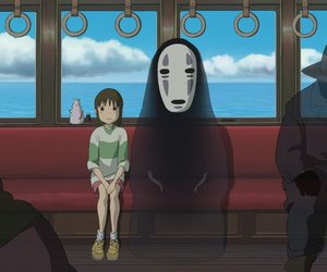 spirited away, chihiro, and anime image