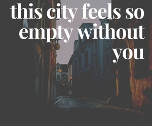 empty, lost, and feelings image