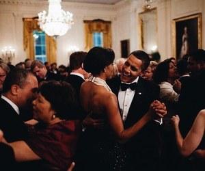 love, barack obama, and michelle obama image