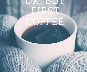 coffee, September, and mornings image
