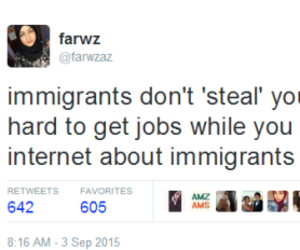equality, funny, and immigrants image