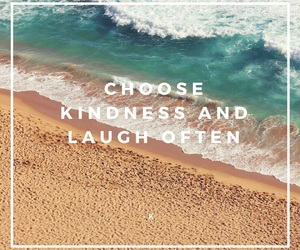 blu, kindness, and laugh image