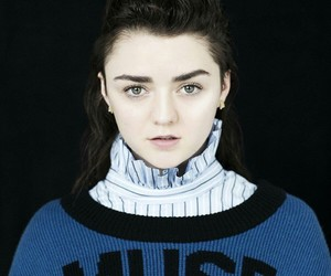 actress, maisie williams, and muse image