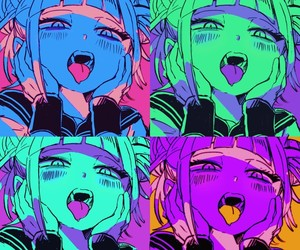 coloful, grunge, and drawing image