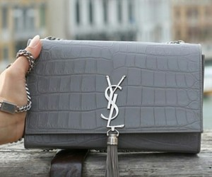 bags, fashion, and grey image