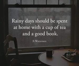 quote and rainy days image