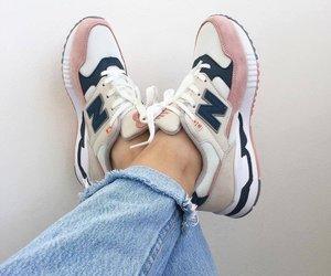 fashion, new balance, and shoes image