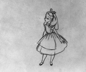 alice, alice in wonderland, and art image