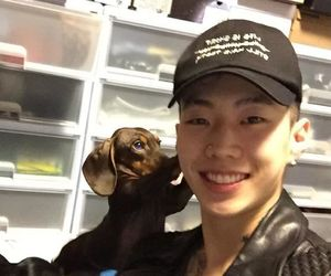 dog, korean, and puppy image