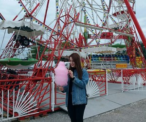 cotton candy, memories, and fashion image