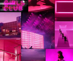 neon pink, pink neon, and edit image