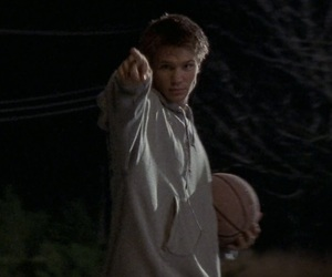 chad michael murray, lucas scott, and one tree hill image