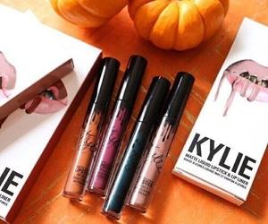 autumn, fall, and makeup image