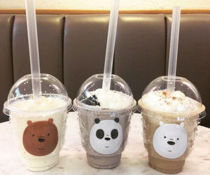 bear, drink, and food image
