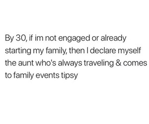 alone, aunt, and engaged image