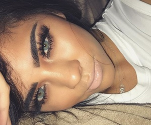eyelashes, photography inspiration, and tumblr girl image